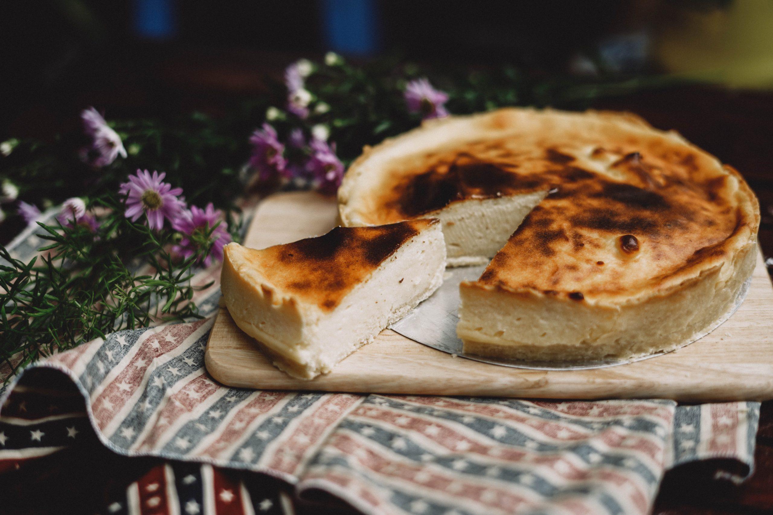 Svampet Cheesecake
