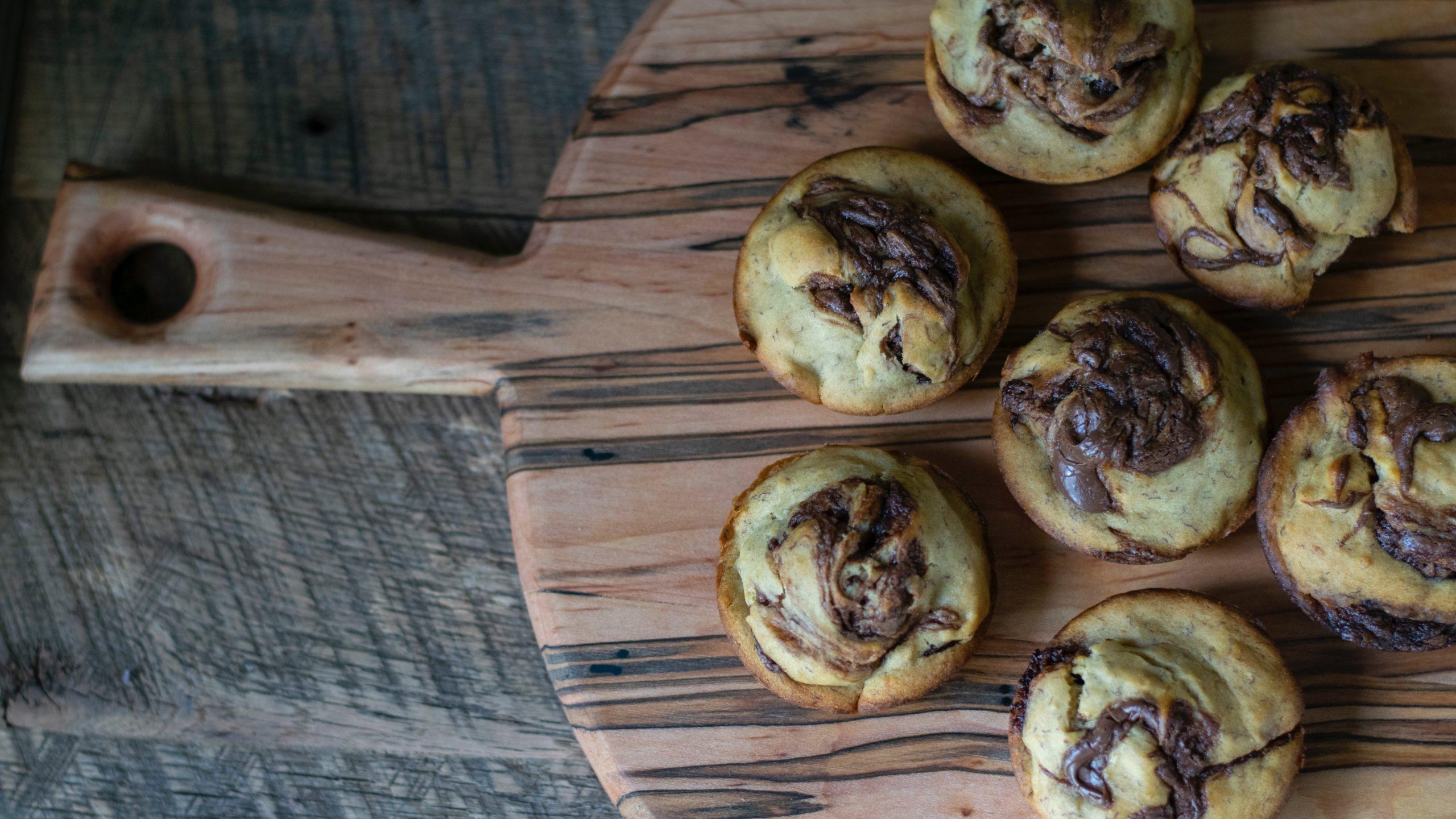 """""""Blødende"""" Muffins"""